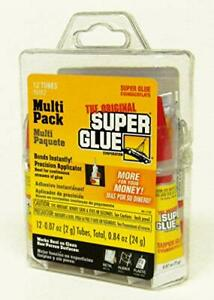 Super Glue Clear Fast Drying For Wood Ceramic Fingernails Metal Pottery 12pack