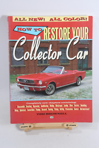 How To Restore Your Collector Car Book Manual Chevy Ford Mopar 350 351 327 302