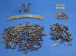 Bolt Kit Chevy 1954 1955 Polished Stainless Chevrolet Short Bed Stepside Truck