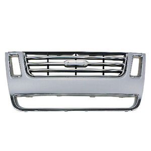 New Grille Fits Ford 8l2z8200ca Capa