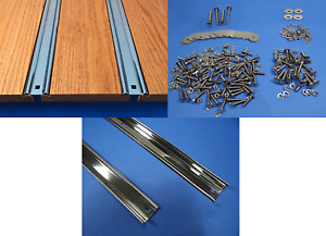 Bed Strips Kit Chevy 1937 1938 1939 Polished Stainless Short Stepside Truck Wood