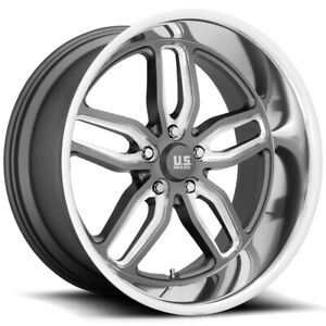 Staggered Us Mags U129 Cten 22x8 5 22x10 5 5x5 1mm Gunmetal Wheels Rims
