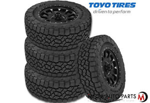4 Toyo Open Country A t Iii P225 75r15 102t All Terrain 65k Mile Truck Suv Tires