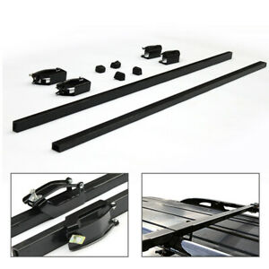 48 Universal Top Roof Rack Cross Bar Luggage Cargo Carrier Fits Truck And Suv