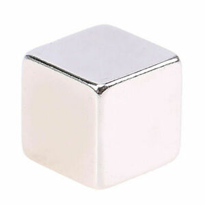 10pcs N52 Large Super Strong Block Square Cube Rare Earth Neodymium Magnets 9mm