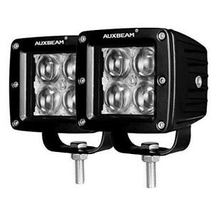 Auxbeam 3 Inch Led Light Bar 20w Led Pods Fog Lights Square Cube Lights Spot Bea