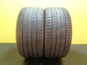 2 Nice Tires Continental Contisportcontact 5p Ao 255 35 19 96y 65 Life 29377
