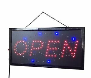 Store Open Sign Shop Close Sign Retail Sign 2 in 1 Open Close Led Board 10070