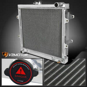 For 1984 1995 Toyota Pickup 4runner 2 4l L4 3 row Performance Cooling Radiator