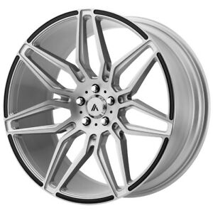 Staggered Asanti Abl 11 Front 22x9 Rear 22x10 5 5x115 Brushed Wheels Rims