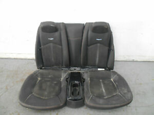 2015 12 13 14 15 Cadillac Cts V Rear Leather Suede Seat Console Set 0577