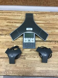 Cisco Conference Station Cp 7937g Phone With 2 External Microphones A 5