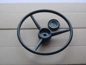 Steering Wheel And Cap For Ih International 95 Cotton 966 986 Farmall 1206 1456