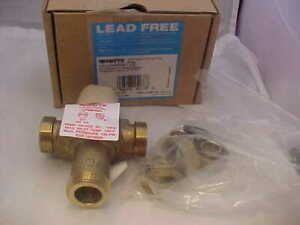 Watts Lead Free Thermostatic Mixing Valve 1 2 Lfmmvm1