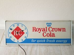 Vintage RC Cola clock/sign