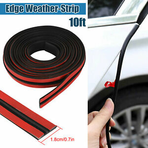 3 M Car Rear Windshield Window Trim Edge Moulding Rubber Weatherstrip Seal Strip