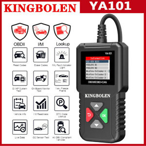 Obd2 Scanner Check Engine Fault Diagnostic Scan Tool Eobd Automotive Code Reader