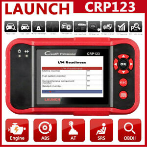 Launch Crp123 Obd2 Scanner Abs Srs Engine Transmission Diagnostic Code Scan Tool