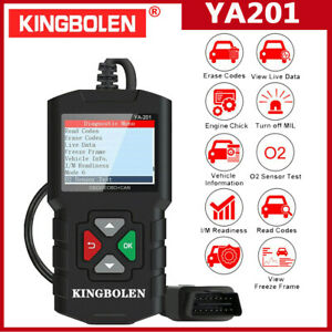 Ediag Ya201 Code Reader Car Diagnostic Tool Full Obd2 Scanner Check Engine Light