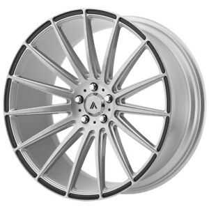 Staggered Asanti Abl 14 Front 19x8 5 Rear 19x9 5 5x114 3 Brushed Wheels Rims