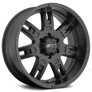 Mickey Thompson Sidebiter Ii 16x8 8x6 5 0mm Matte Black Wheel Rim 16 Inch