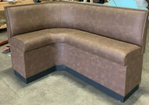 Restaurant Booth Wall Bench In 30 High Bar Height Seat Made In Us