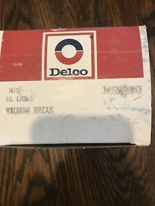 New Nos Oem Gm Delco Choke Pull Off 17068090 Rochester 2 Barrel Varajet Carb