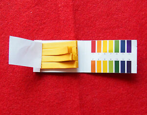 400 Strips 1 14 ph Indicator Test Paper chemistry Labware 5 Bags lot