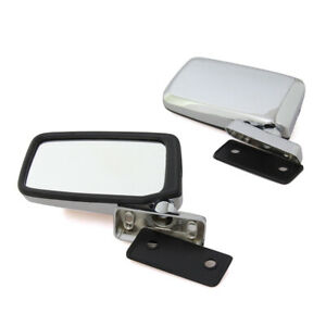 Chrome Door Mirror Pair Size 3 3 8 X 6 Fit For Nissan Datsun 720 Pick Up Truck