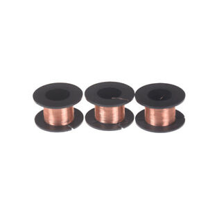 11m 0 1mm Diameter Varnished Wire Thin Copper Wire Diy Rotor Enamelled Wire J Hh