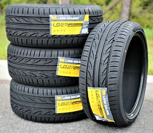4 New Landgolden Lg27 225 40r18 Zr 92w Xl A s High Performance All Season Tires