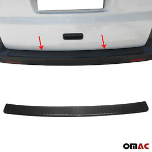 Fits Vw Transporter T5 2003 2015 Genuine Carbon Rear Bumper Guard Protector