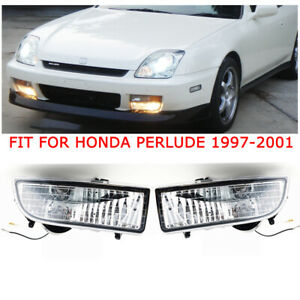 Pair Led Front Bumper Fog Light Lampfor Honda Prelude 1997 1998 1999 2000 2001
