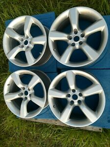 Nissan 350z 2005 2009 18 35th Anniversary Factory Oem Staggered Wheels Rims Set