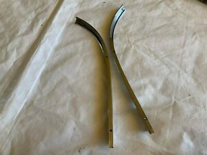 1957 1958 Cadillac Windshield Molding Front Window Trim Stainless Moulding