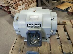 Teco westinghouse 3 Phase Induction 2 Speed Motor 1765 1175 Rpm 15 6 7 Hp