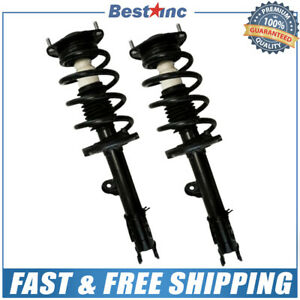 Front Pair 2 Complete Strut Assembly For 2010 2011 2012 Hyundai Santa Fe