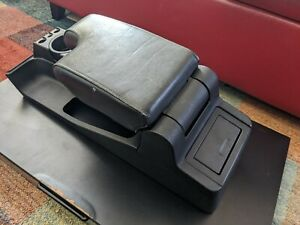 92 98 Bmw E36 Complete Leather Armrest Cup Holder Console