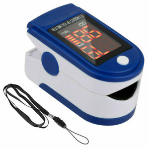 Pulse Oximeter Blood Oxygen Saturation Spo2 Heart Rate O2 Patient Monitor Usa