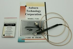 Auburn Technology P 20a 3ghz Rf Probe New And Never Used
