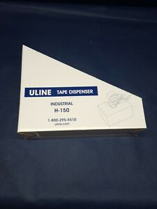 Uline H 150 Industrial Side Loader Tape Dispenser Gun Hand Held Packaging 2 New
