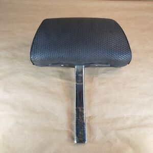 Mg Mgb Midget 1977 80 Original Headrest Perforated Vinyl Black Oem