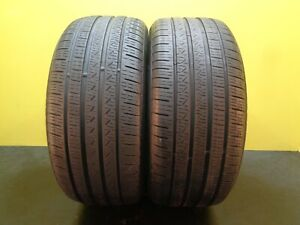 2 Take Off Tires Pirelli Cinturato P7 Ao 255 40 19 100h 80 Life 29483