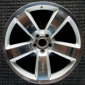 Dodge Charger Polished W Silver Pockets 20 Inch Oem Wheel 2006 To 2010