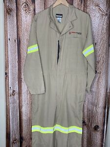 Bulwark Protective Apparel Flame Resistant Coveralls Jumpsuit Refelective 42 Rg