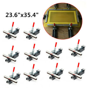 New 10pack Manual Screen Stretcher For Silk Screen Printing Mesh Stretcher 30 Cm