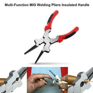 Multi function Mig Welding Pliers pincers Quality Carbon Insulated Steel L0x3