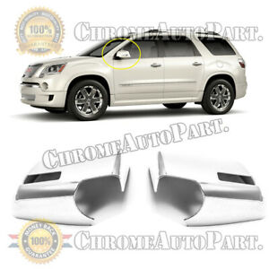 2007 2016 Gmc Acadia 2009 2017 Chevy Traverse 07 09 Outlook Chrome Mirror Covers