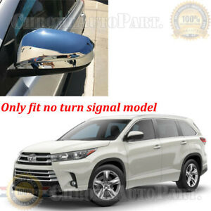 Rearview Side Wing Mirror Cover For Toyota Highlander 2014 2015 2016 2017 2018