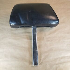 Mg Mgb Midget 1977 1980 Original Headrest Leather Black Oem